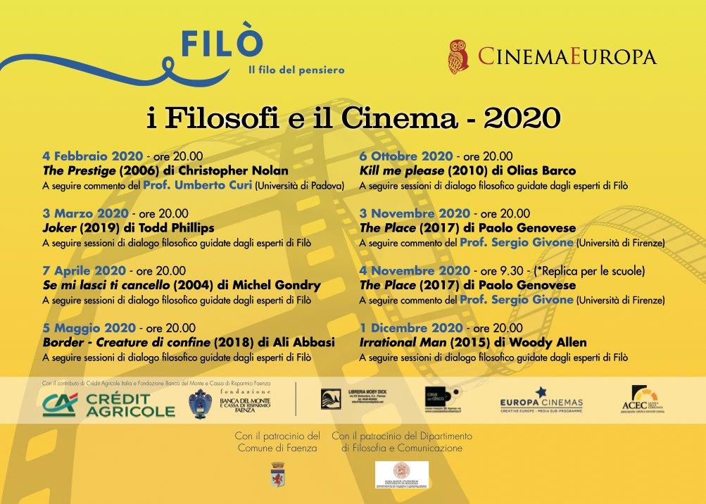 I Filosofi e il Cinema