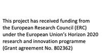 ERC Acknowledgemnt Funding