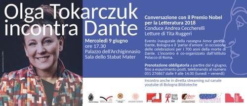 Centro di Poesia Contemporanea - Olga Tokarczuk incontra Dante