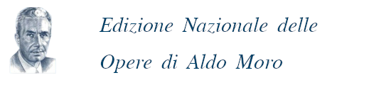 Edizione Nazionale delle Opere di Aldo Moro