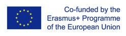 Bandiera Unione e Europea e indicazione: Questo progetto è finanziato nell'ambiti del programma Erasmus+ dell'Unione Europea.