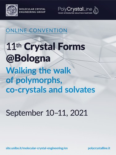 11th Workhsop on Crystal Forms, Bologna 2021