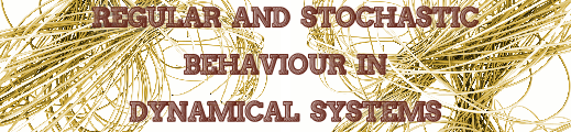 Regular and stochastic behaviour in dynamical systems