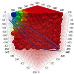 3D CVT Model - pathlines
