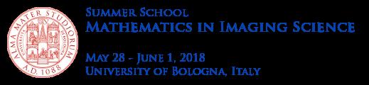 Mathematics in Imaging Science
