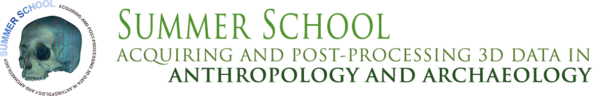 ACQUIRING AND POST-PROCESSING 3D DATA IN ANTHROPOLOGY AND ARCHAEOLOGY