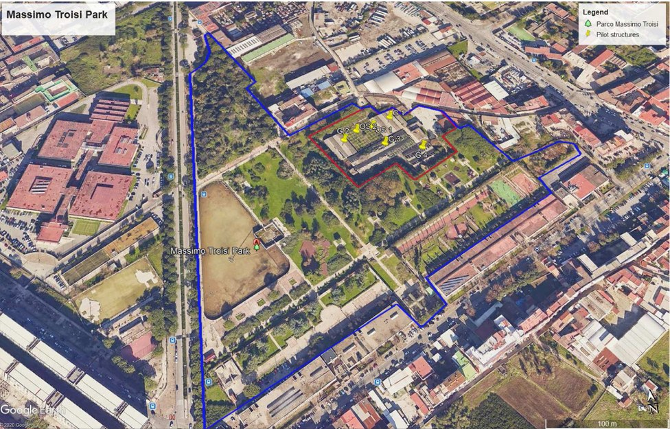 Troisi Park Satellite view